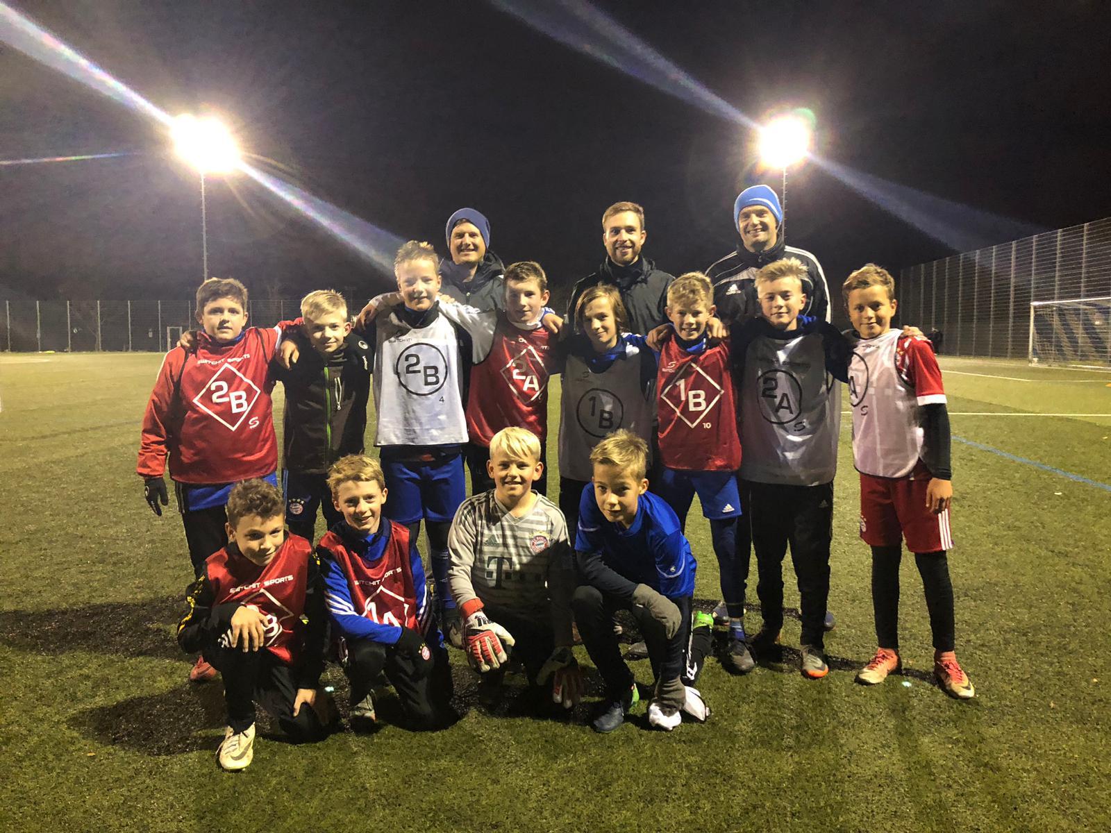 Training beim FC Deisenhofen