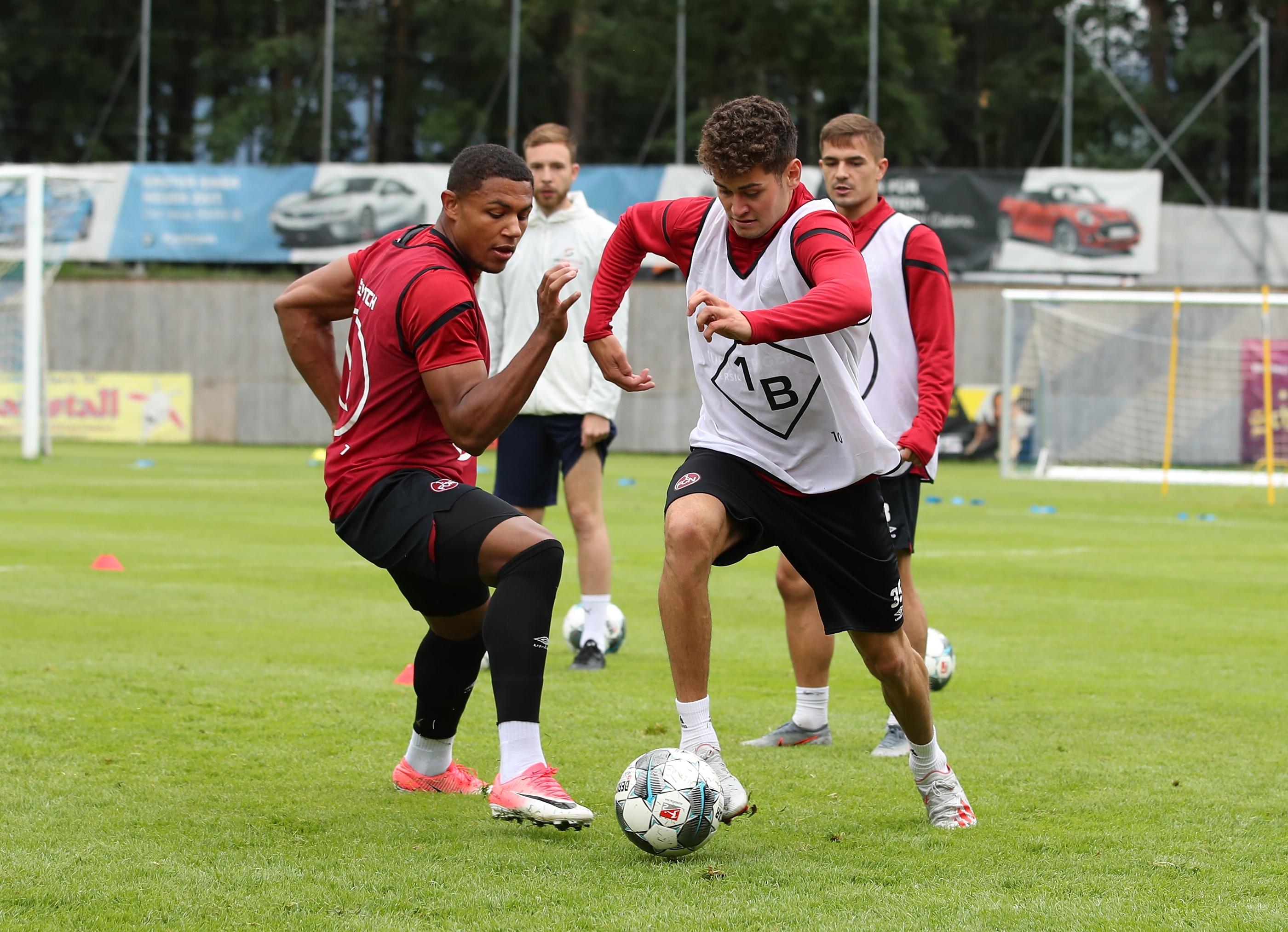 Die Profis vom 1. FC Nürnberg trainieren ab sofort mit RESWITCH!